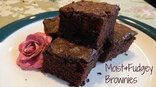 How to Bake Moist & Fudgy Brownies (Using Vegetable Oil Instead of Butter)