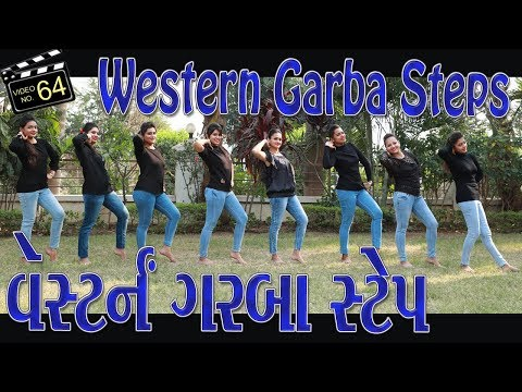 western-गरबा-dance-steps-videos-|-navratri-2018-|-kala-chashma-songs-|-sathiya-garba-international