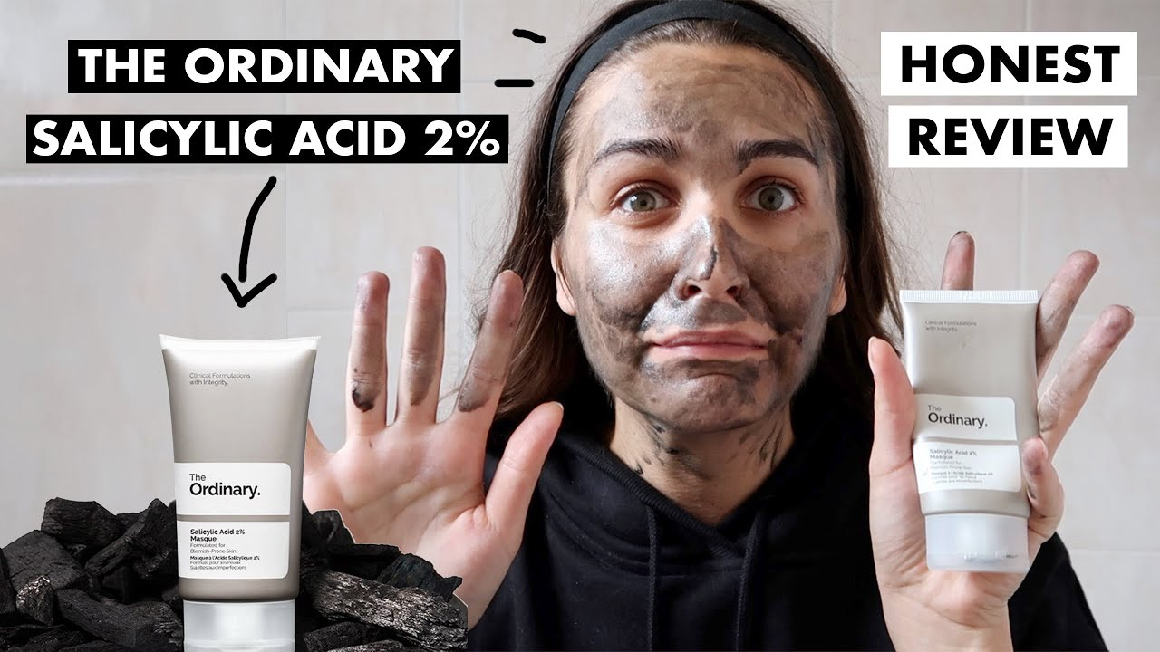 THE ORDINARY SALICYLIC ACID 2% MASK FOR ACNE PRONE SKIN   HONEST REVIEW