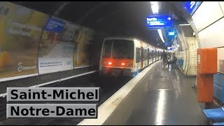 RER Paris: Saint-Michel - Notre-Dame (B) (RATP MI79)