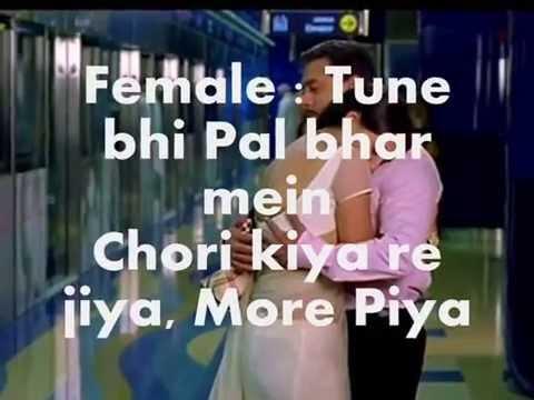 Chori Kiya Re Jiya karaoke Dababg