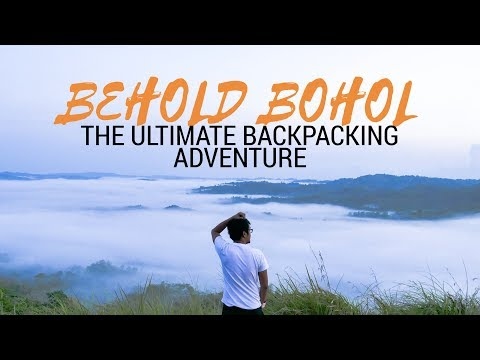BEHOLD BOHOL // THE ULTIMATE DIY BACKPACKING ADVENTURE