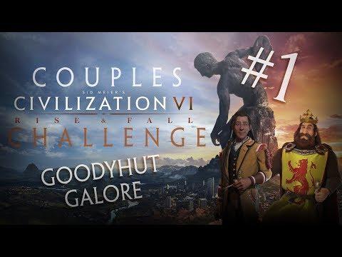 Couples Civilization Challenge Part 1 Goodyhut Galore!