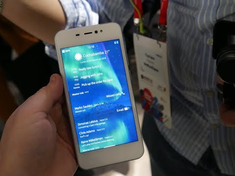 Jolla Sailfish 3 - Hands On With The Versatile Mobile Operating System - MWC 2018