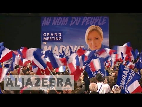 France election: Marine Le Pen seeks votes in southwest
