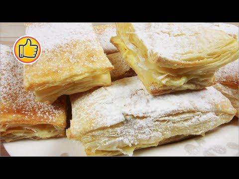 Быстрые Наполеончики на Новый 2020 Год, Неимоверно Вкусные Пирожные дома | Юлия Ковальчук