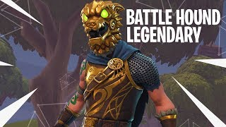 LEGENDARY BATTLE HOUND OUTFIT vs SQUADs! - Fortnite: Battle Royale DUO vs SQUADs! (#124)