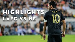 Full Highlights | 1-1 | LAFC vs. New England Revolution | September 15, 2018