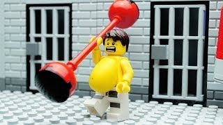 Lego Gym Fail - Prison Break Fitness