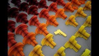 Li Hongbo's paper guns