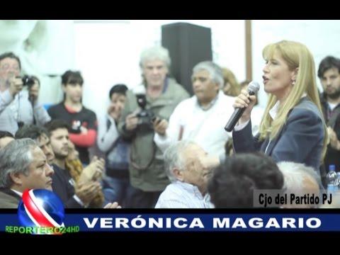 VERÓNICA MAGARIO CANDIDATA