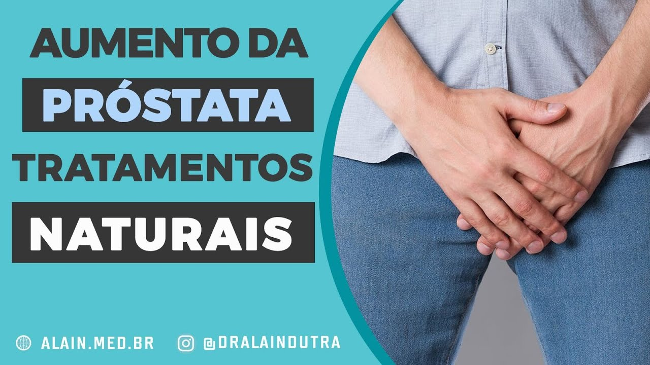 próstata grande medicina natural
