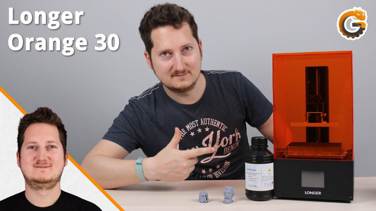 Longer Orange 30: Der beste SLA-3D-Drucker für Anfänger? - Test