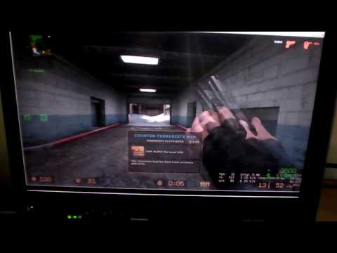 Counter Strike: Source Gameplay (Intel GMA 4500MHD)