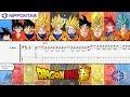 【Bass TAB】Chouzetsu Dynamic! 超絶☆ダイナミック - Dragon Ball Super ドラゴンボール 超 OP 1 ベース tutorial & tab 譜