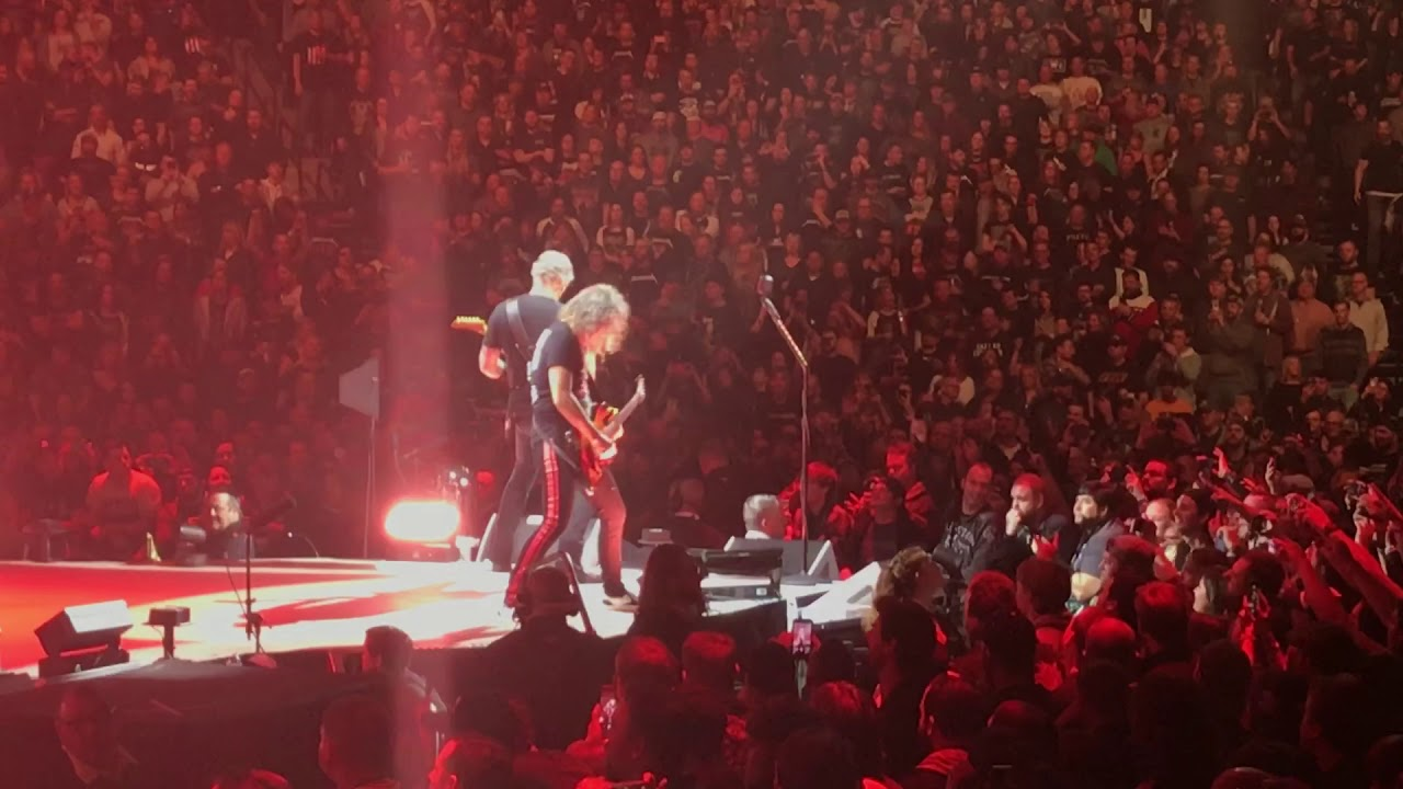Metallica - For Whom The Bell Tolls - Bridgestone Arena - Nashville, TN  1/24/2019