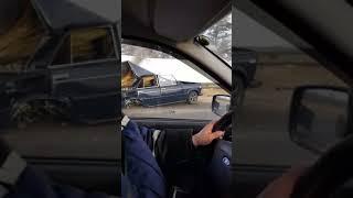 Обложка Крупное авария ДТП на трассе М5 в Новоспасске рядом с Сызранью Самарская область Очевидци в шоке