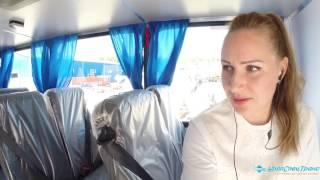 Константин-ПРО вахтовый автобус Урал 4320-82М, переговорное устройство и перенос тележки назад.