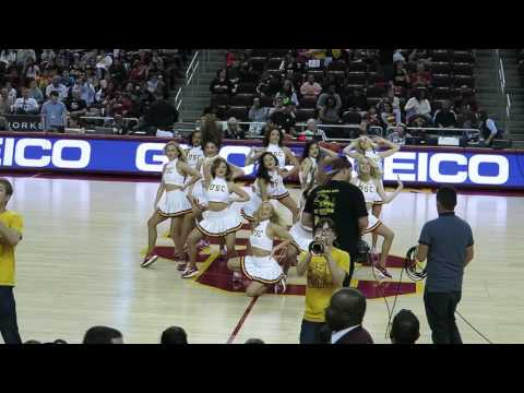"trojancandy.com:  Watch the USC Song Girls and Spirit of Troy Perform ""Heartbreaker"""