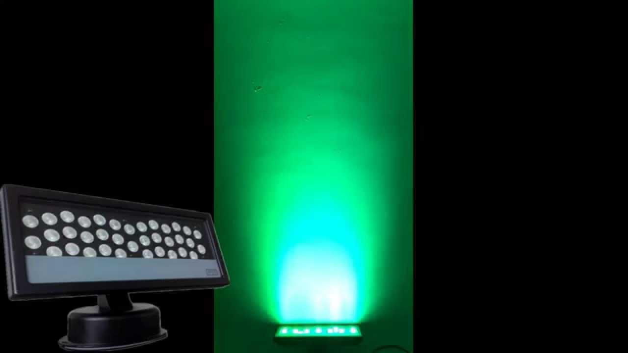 Outdoor dj lighting ip65 36pcs led uplight washer flood light youtube outdoor dj lighting ip65 36pcs led uplight washer flood light aloadofball Choice Image