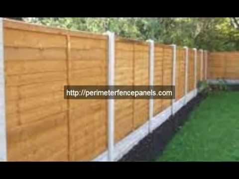 How To Build A Fence With Wood Panels