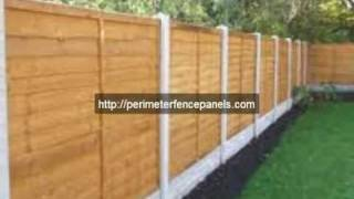 How To Build A Fence With Wood Fence Panels