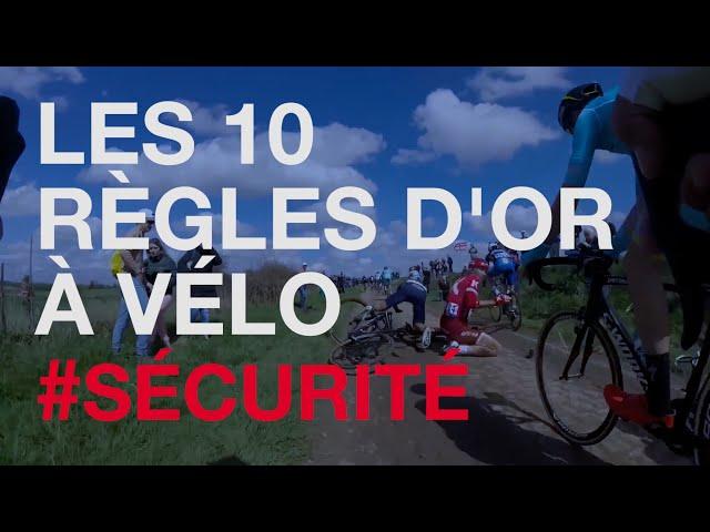 #Sécurité - Les 10 règles d'or à vélo