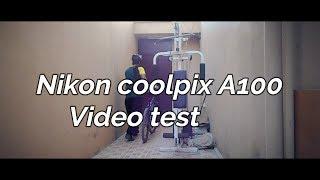 Nikon coolpix A100 cinematic video test