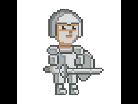 Pixel Art Chevalier Youtube