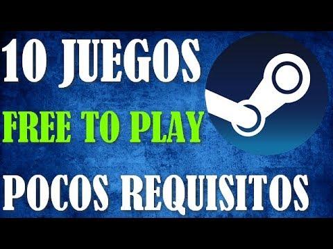 TOP 10 -  JUEGOS DE  STEAM GRATIS Y DE POCOS REQUISITOS