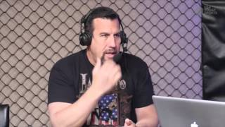 """Respected MMA referee """"Big"""" John McCarthy's graphic description of how he views fights differently."""