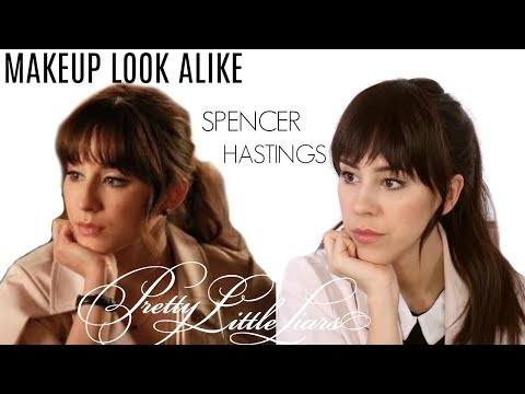 Spencer Hastings Makeup Tutorial | Pretty Little Liars Makeup Tutorial