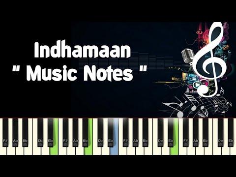 Indhamaan (karagattakaran) Piano Notes /Midi File /Karaoke /