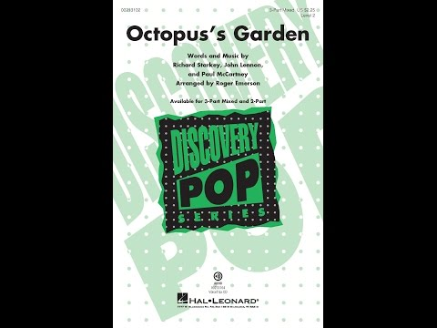 Octopus's Garden (3-Part Mixed) - Arranged by Roger Emerson
