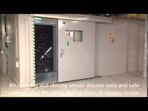 electrical-opening-system-for-heavy-duty-sliding-fire-doors