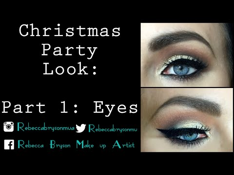 Christmas Party Make up - Eyes