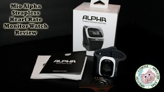 Mio Alpha Strapless Heart Rate Monitor Watch Review