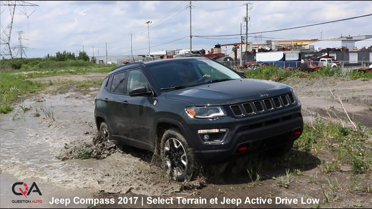 2017 jeep compass jeep active drive low essai complet 7 10 youtube. Black Bedroom Furniture Sets. Home Design Ideas