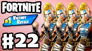 Same Skin Squad #1 Victory Royale! - Fortnite - Gameplay Part 22