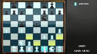 Chess Knight Free - Mac Game Gameplay: Computer Wins: Fail!