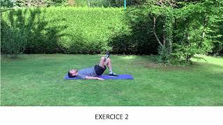 Exercices pour les ischios - fessiers - lombaires