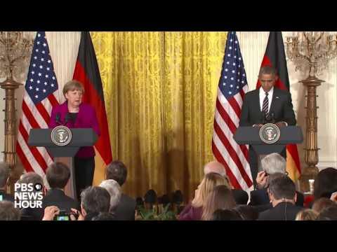 Watch President Obama and German Chancellor Merkel news conference on Ukraine