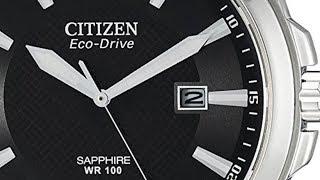 Citizen Men's Eco-Drive BM7100-59E Stainless Steel Dress Watch