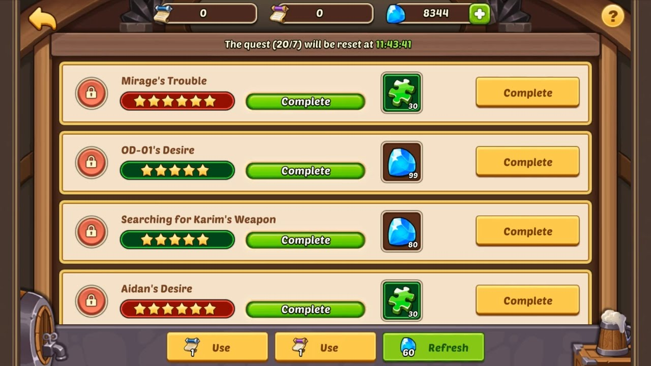 Idle Heroes - Tavern Quest Event !