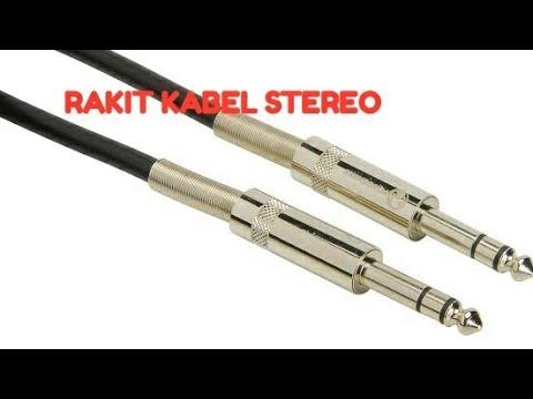 Cara Buat Kabel Jack/kabel Jek 1/4inch/akai Audio Stereo