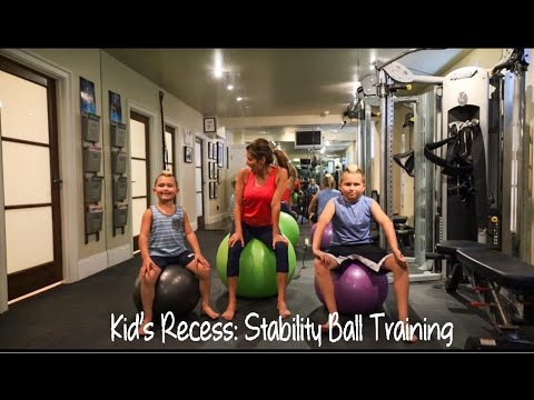 Download Kid's Recess: Stability Ball Training