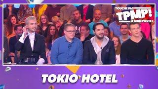 Cyril Hanouna face au groupe Tokio Hotel dans TPMP