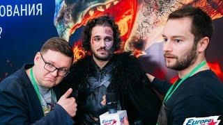 Cпецагенты Сергей Андреев и Павел Беседин на Comic Con Russia!