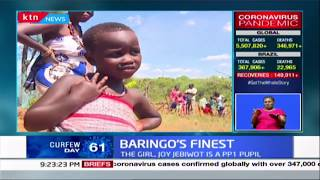 Baringo's finest: Girl from Kamalanget village in Baringo lights up the internet