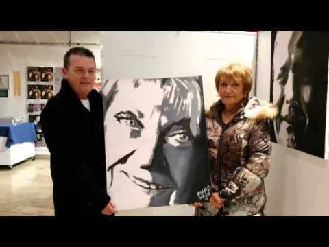 My One Man Show debut art exhibition. Virtual tour as reported by Radio Foyle